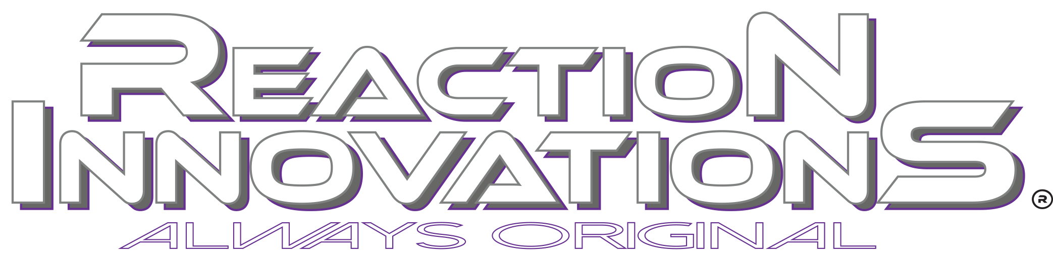 Reaction Logo new 2017 white grey outlines copy